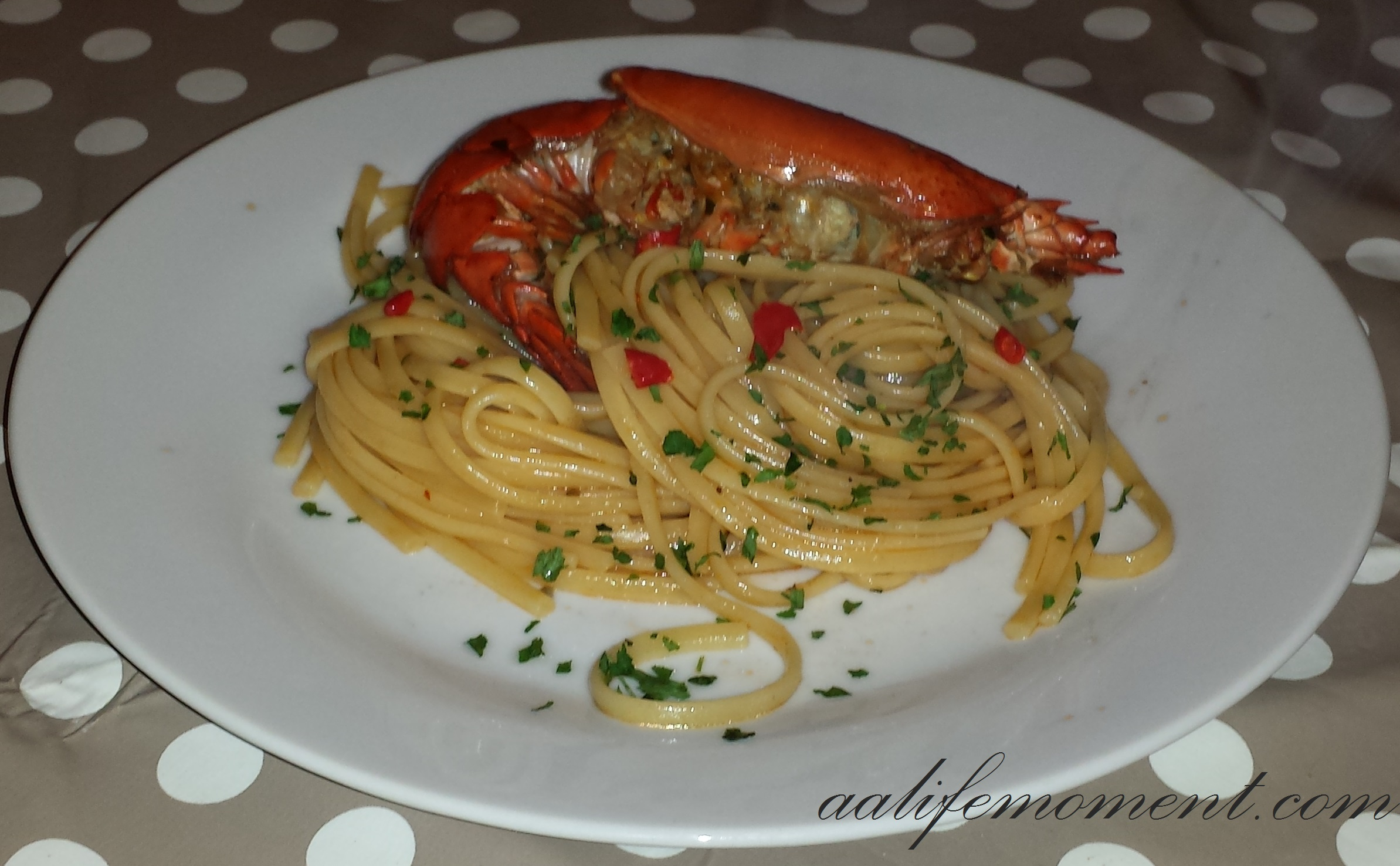 Spaghetti with Lobster
