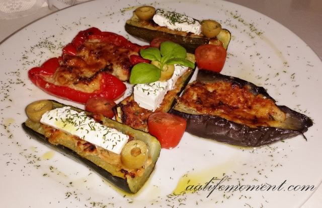 Stuffed Vegetables with Tuna