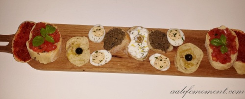 Photo: Italian Bruschette, Our Special Starter