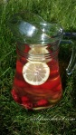Raspberry Detox Water