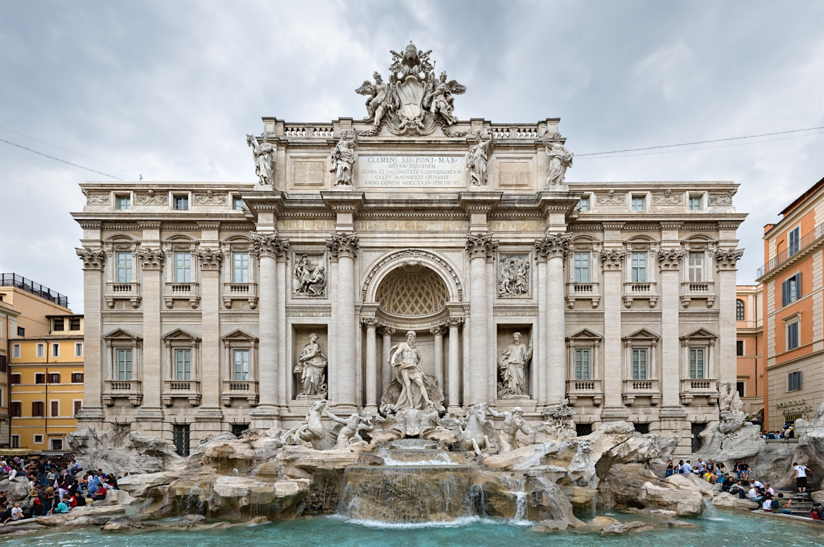 "Daily Prompt: Three Coins in the Fountain ""Arrivederci Roma"""
