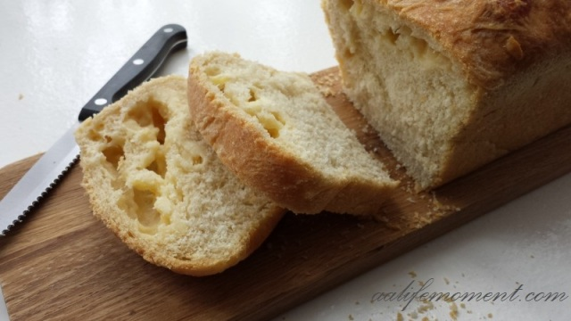 Cheese homemade bread