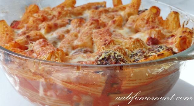 pasta al forno - Baked pasta