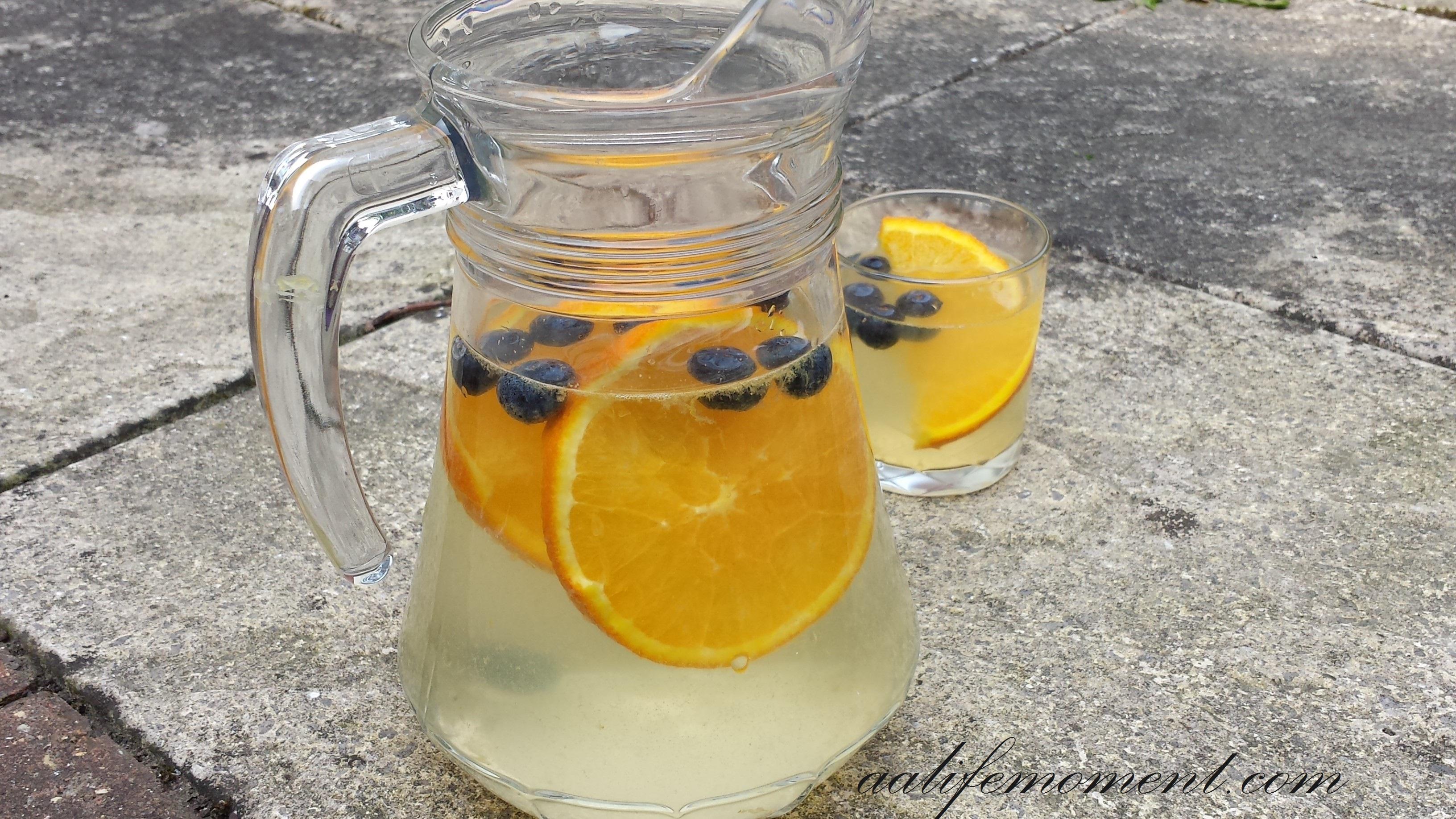 Orange Detox Water