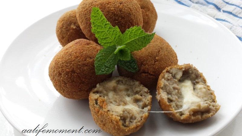 Aubergine/Eggplant Meatballs