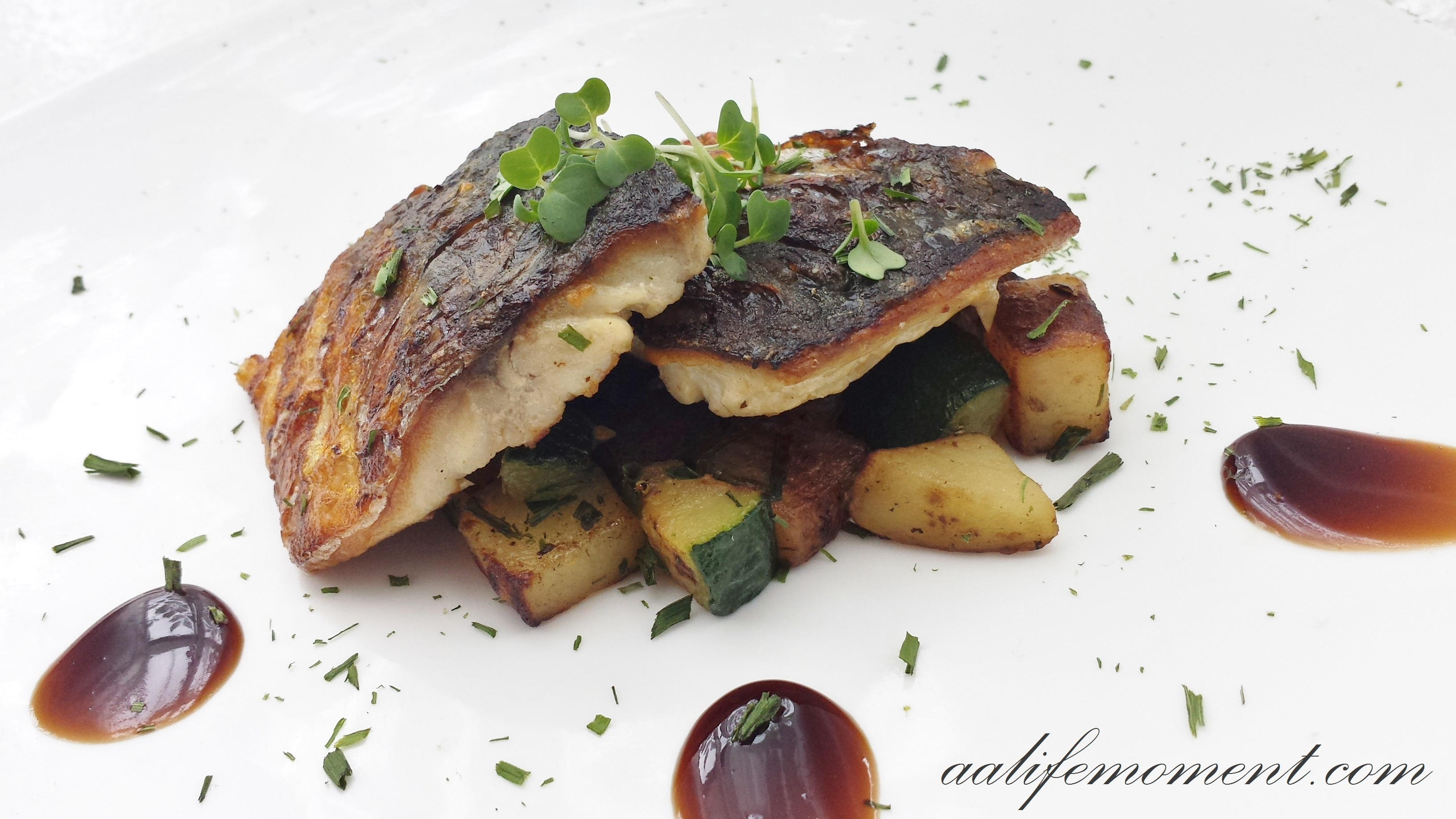 Grilled Fish - Mackerel