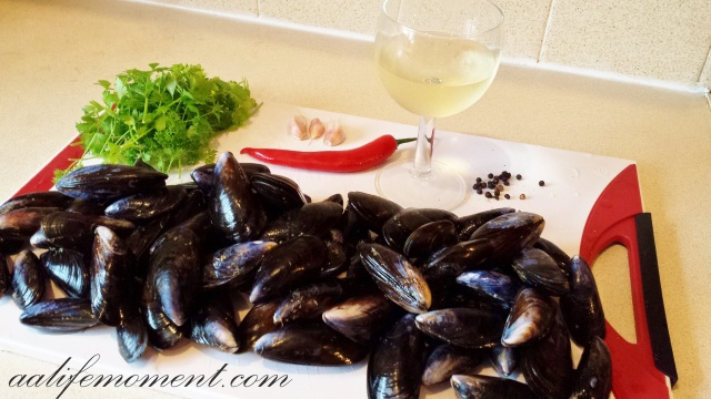 Mussels ingredients