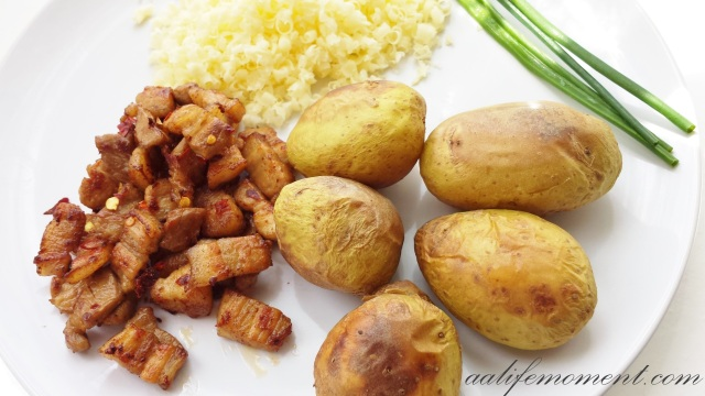 Stuffed potatoes ingredients