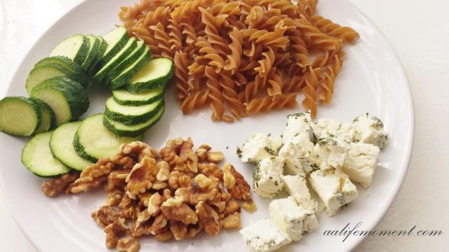 healthy pasta salad ingredients