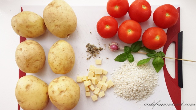 Stuffed Tomatoes ingredients
