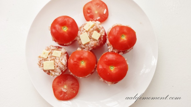 Raw Stuffed Tomatoes
