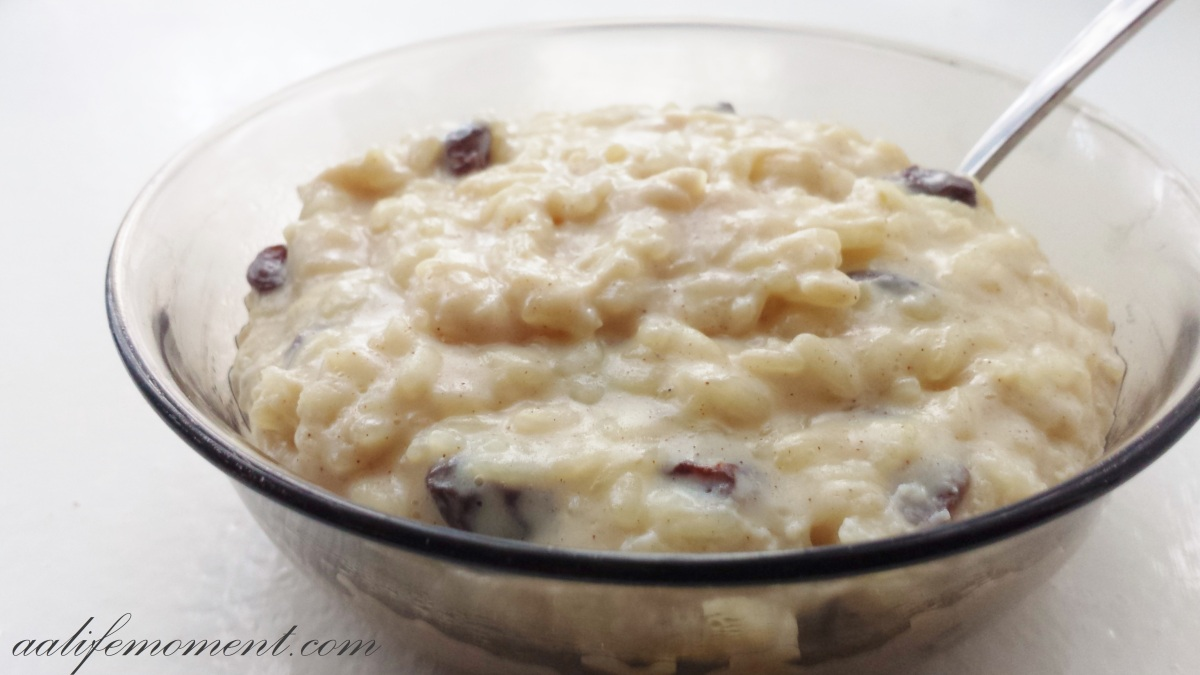 Homemade Rice Pudding recipe: Creamy and Healthy version