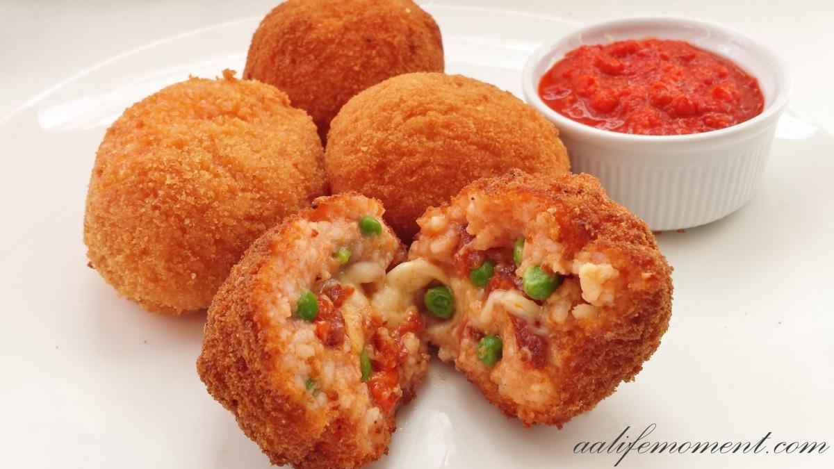 Arancini - Rice balls recipe
