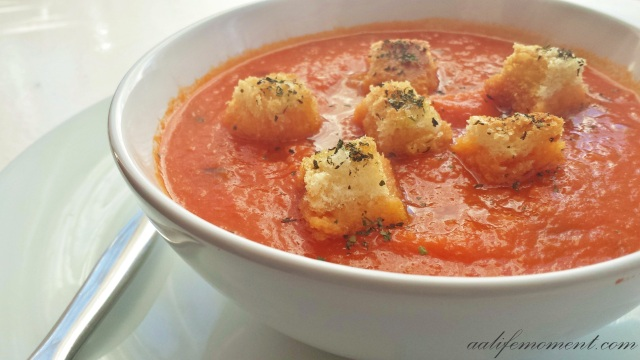 Creamy tomato soup recipe