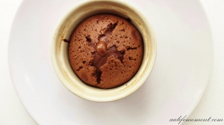 Baked Chocolate Molten Lava Cake - Valentine's Day