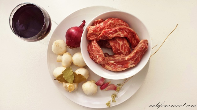 Beef Rib Trim Ingredients