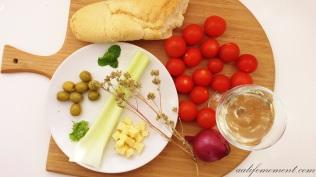 Authentic Panzanella Recipe raw Ingredients