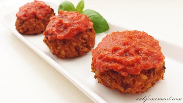 Vegan Meatballs - Lentils and Barley