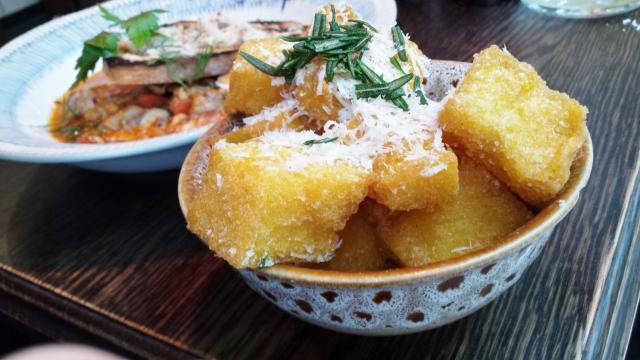 Jamie's Italian - polenta chips