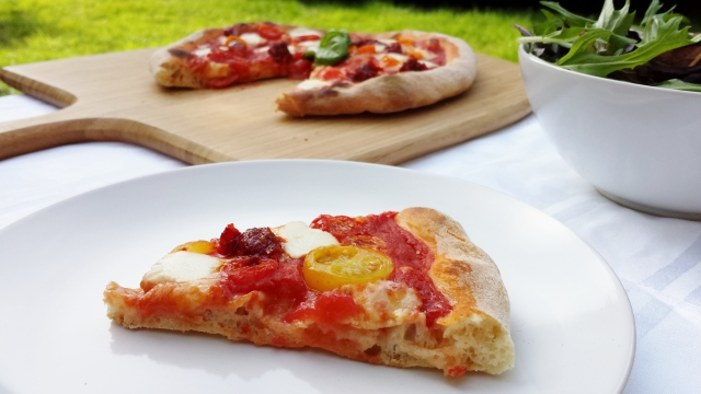 Spreadable Pepperoni Pizza outdoor